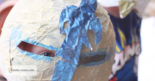 Awesome Paper Mache Helmets Your Kids Will Love