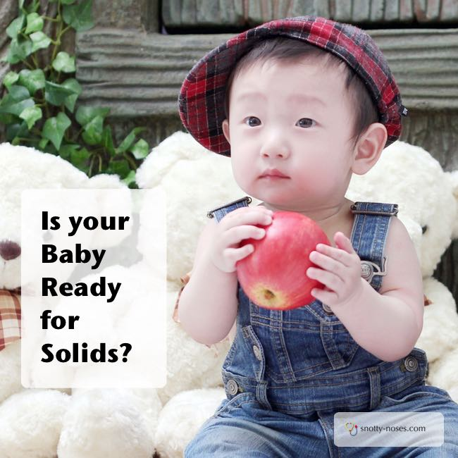 Introducing Solids. Am I ready? By a paediatrician