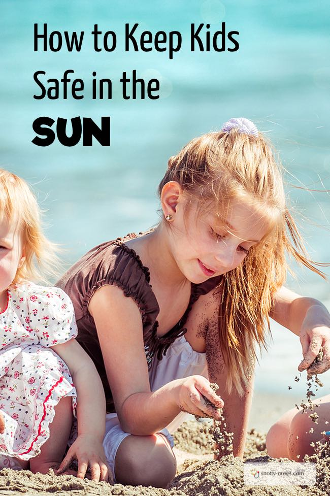 Sun Safety for Children by a pediatrician