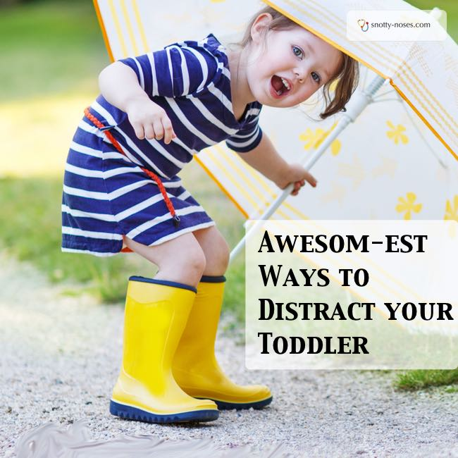 Easy Peasy Ways to Distract your Toddler