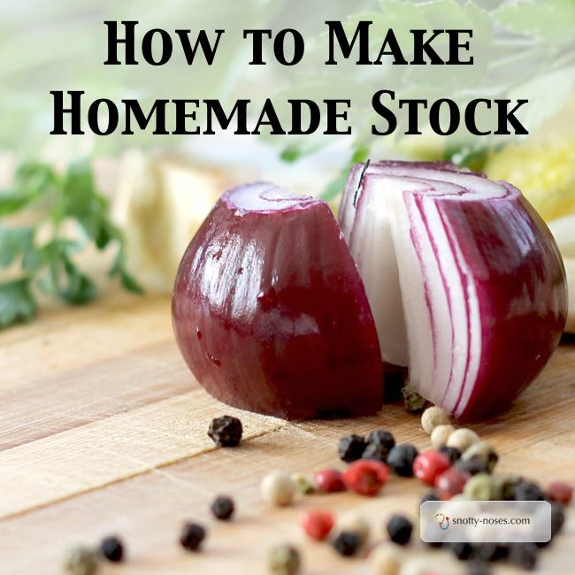 How to Make your Cooking Delicious with Homemade stock. Want to know why my kids love my healthy food? Homemade stock is my secret ingredient and it's so easy to make. I wish I had started making homemade stock sooner.