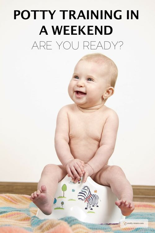 Potty Training in a Weekend. Are you Ready?