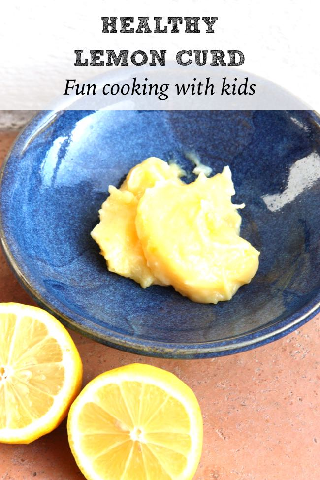 Easy and Healthy Lemon Curd. Cooking with Kids