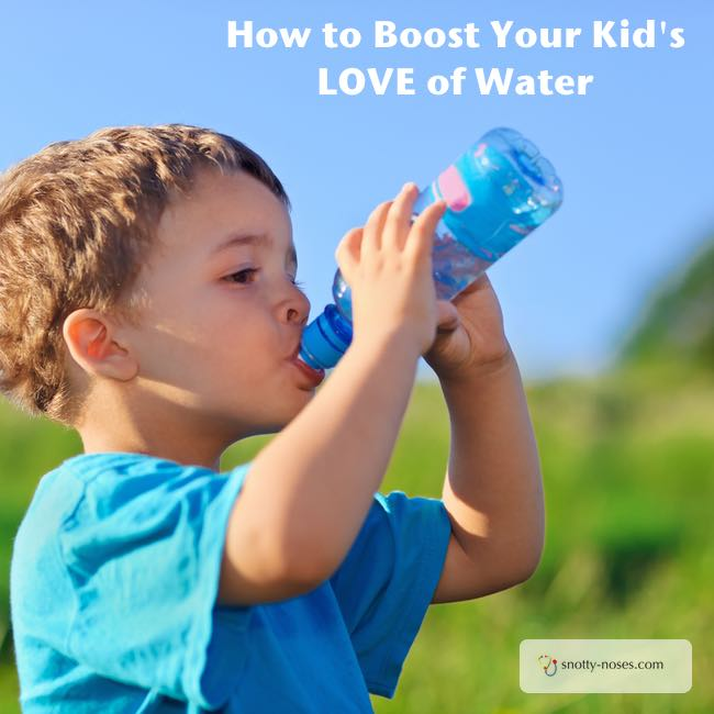 How to Help Your Children Drink Water