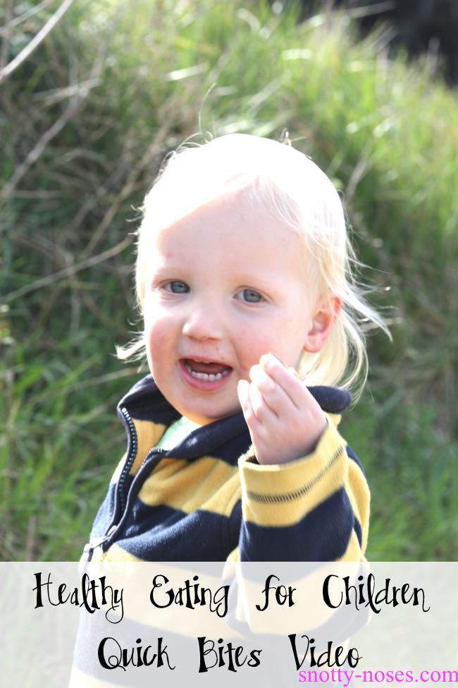 Healthy Eating for Children Video by Dr Orlena Kerek, pediatrician