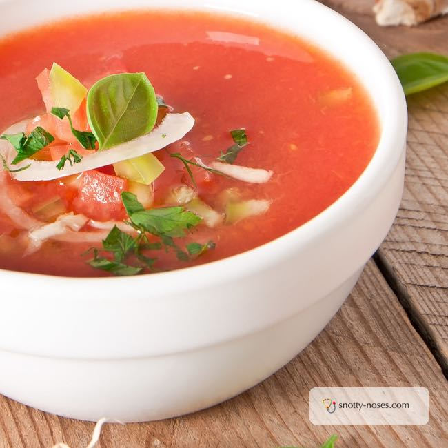 Gaspacho Recipe. Healthy and refreshing and really easy to make.