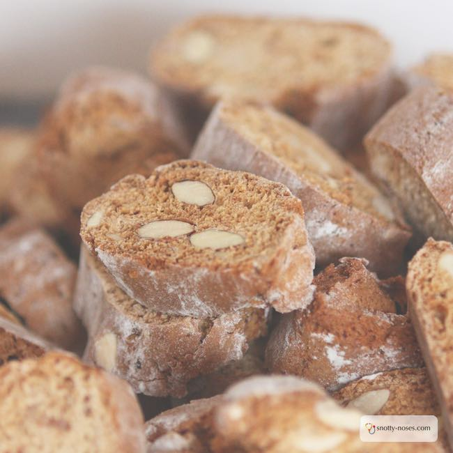 Biscotti, a healthy snack for your kids. Cooking with Kids