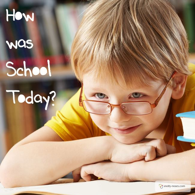 How was School Today? Some great questions to ask, to get some great answers.