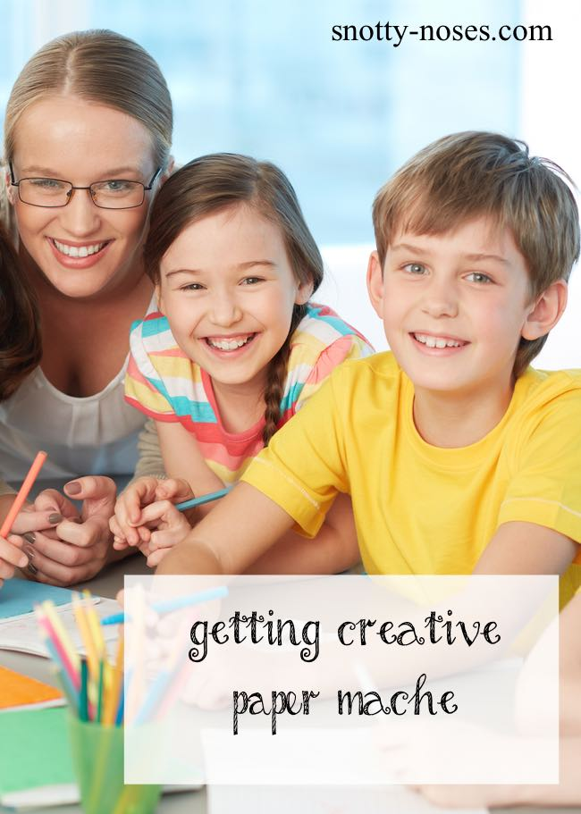 How to Make Paper Mache, a really fun and easy activity that nurtures your kid's creativity.