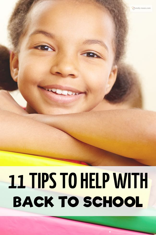 Get your Children ready to go back to school with these simple ideas.