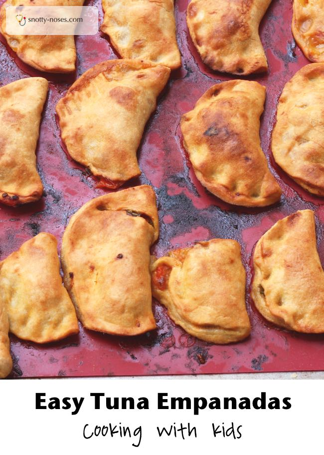 How to Make Tuna Empanadas with your Children. Fun Cooking with Kids.