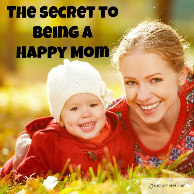 The Secret to Being a Happy Mum