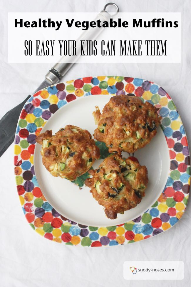 Healthy Zucchini Muffin Recipe. These are so easy to make that my kids can make them. The perfect answer for a healthy snack, breakfast or lunch.