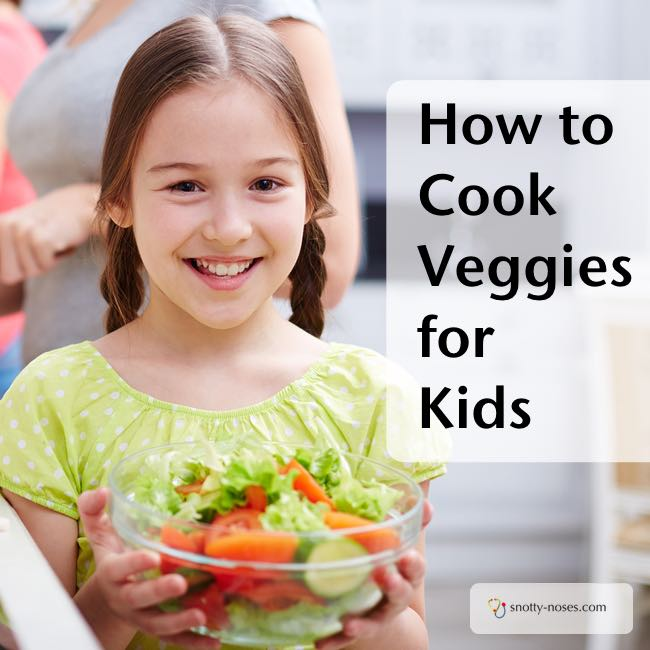 How Cook Vegetables that your Kids will Love. Part 1. Some great tips to teach your kids about healthy eating.