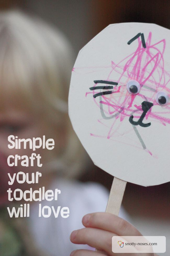 Easy Craft that your Toddler will love