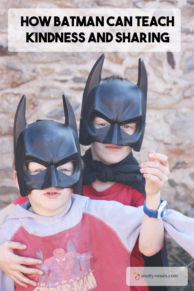 How Batman can Teach Kindness and Sharing