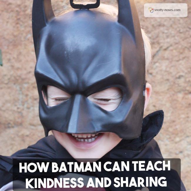 How Batman can Teach Kindness and Sharing