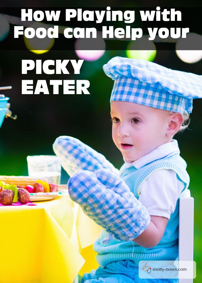 How to Playing with Food can Help your Picky eater