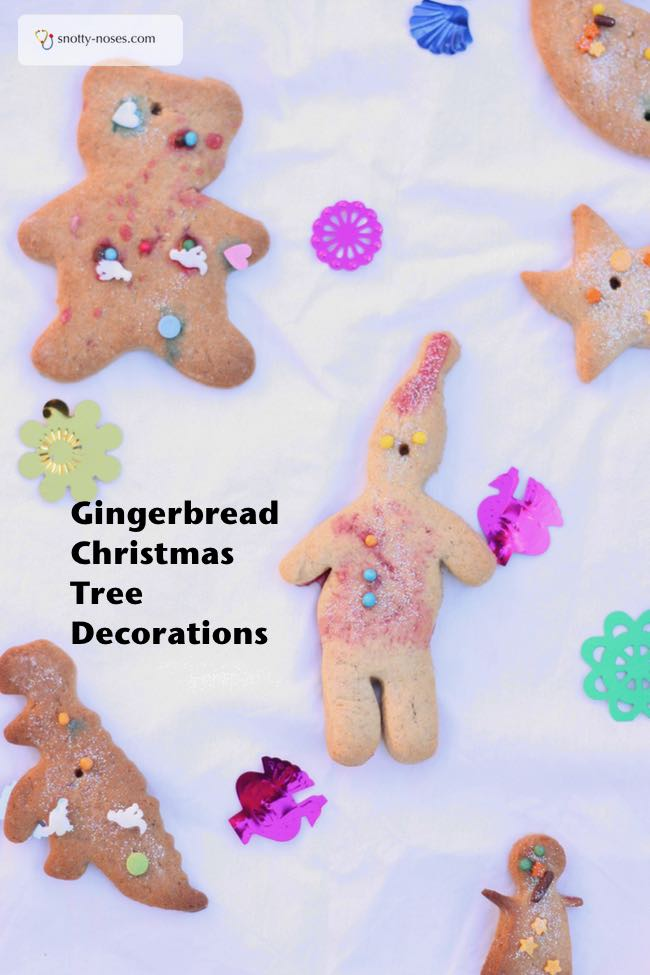 Gingerbread Cookie Christmas Tree Decorations That your Kids Will Eat before they get to the tree.