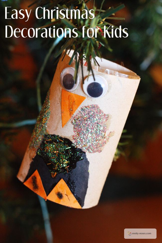 Easy Christmas Crafts for Children. Heaps of crafts. What a great way to make memories.