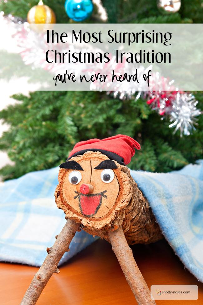 The Most Surprising Christmas Tradition You've Never Heard Of. The Christmas Log does what?
