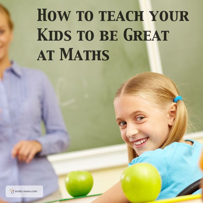 How to Teach your Kids to be Great at Maths. It's such a simple idea but it really as helped my kids love maths and be good at math.