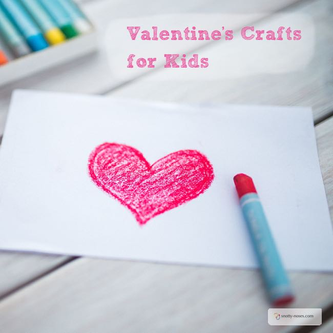 20 Awesome Valentine Crafts for Kids. What better way to tell some one you love them with a homemade valentine craft?