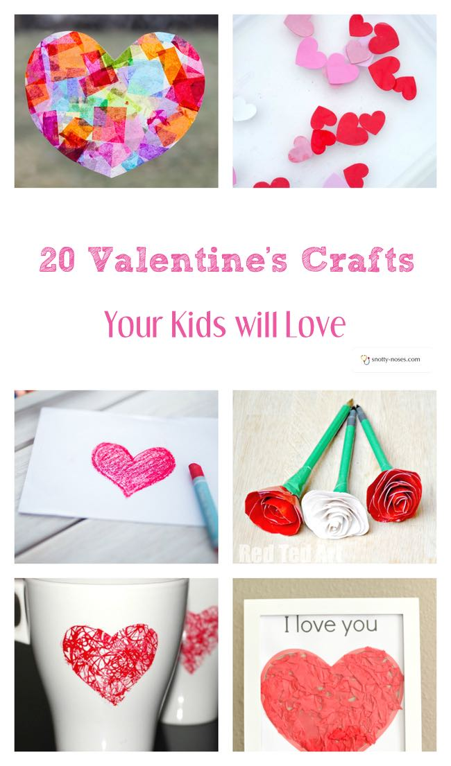 valentine s crafts for kids