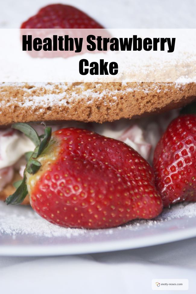 Strawberry Cake. A yummy strawberry cake that your kids will love to make and eat!