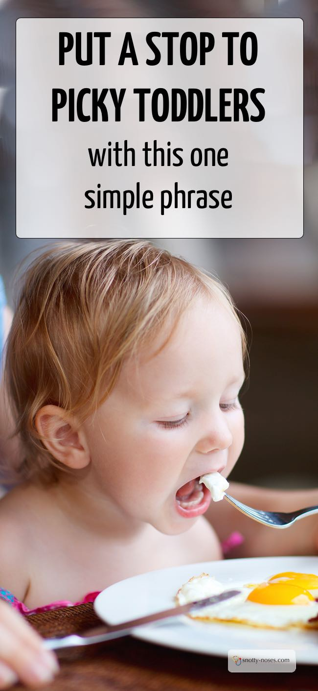 Put an end to picky toddlers with this one simple phrase. Help your toddler overcome their fear of new foods by creating a safe tasting environment.