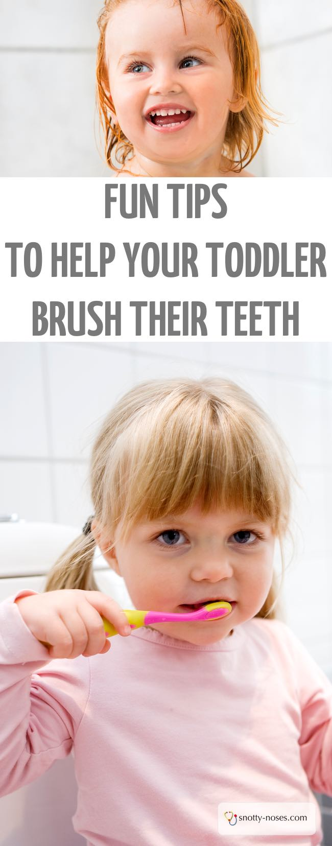 Fun Tips to Help you Brush Your Toddler's Teeth. Brushing your toddler's teeth can be so frustrating, here are 10 great tips to help. I love the last one! #toddler #parenting