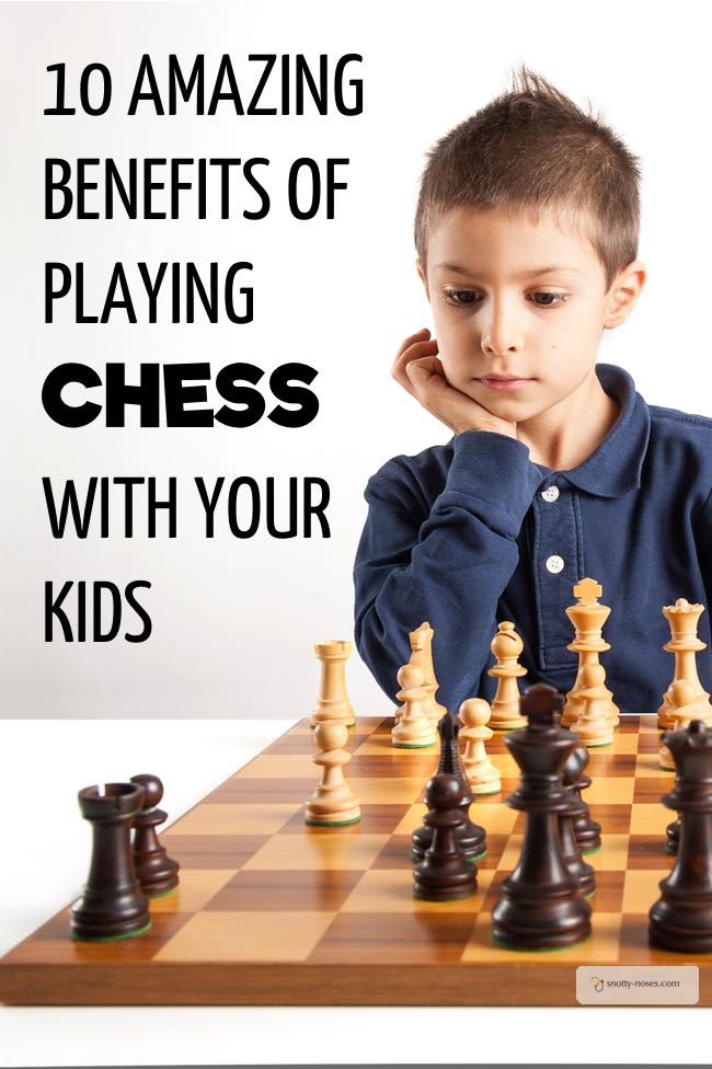 10 Amazing Benefits of Playing Chess with Your Kids. Have you ever thought about playing chess with your kids? It's great fun AND it's great for those little brains as well.