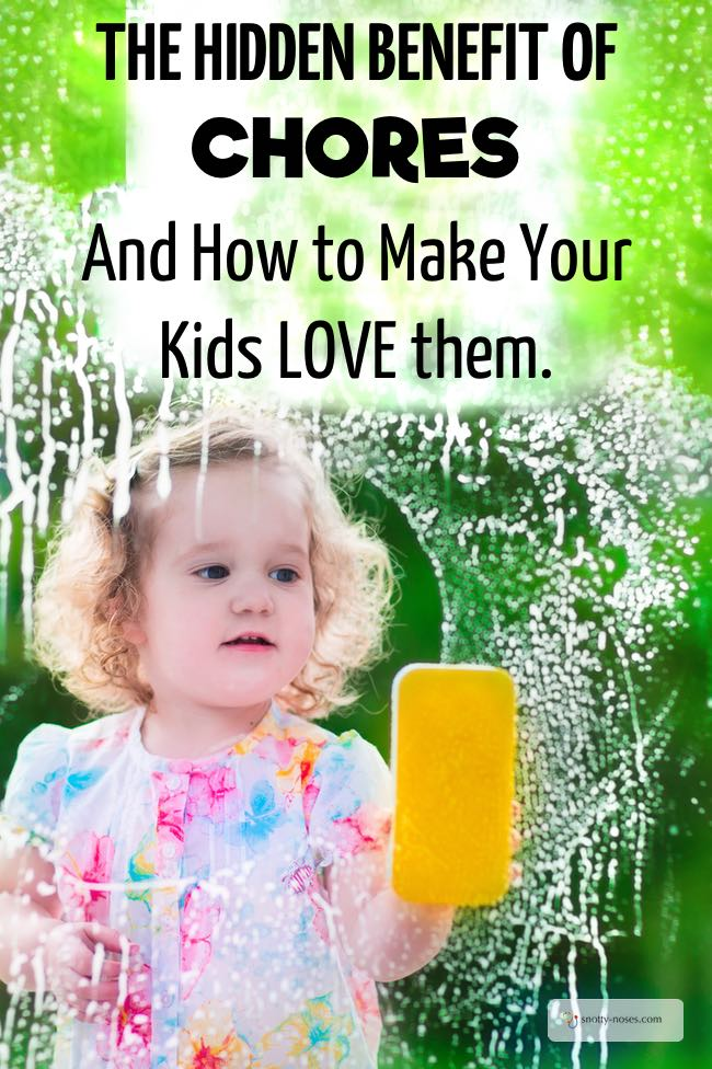 The Hidden Benefit of Kids Doing Household Chores. And How to Get them to LOVE them. It can be so frustrating getting kids to do chores, but once they get into them, they really love them.