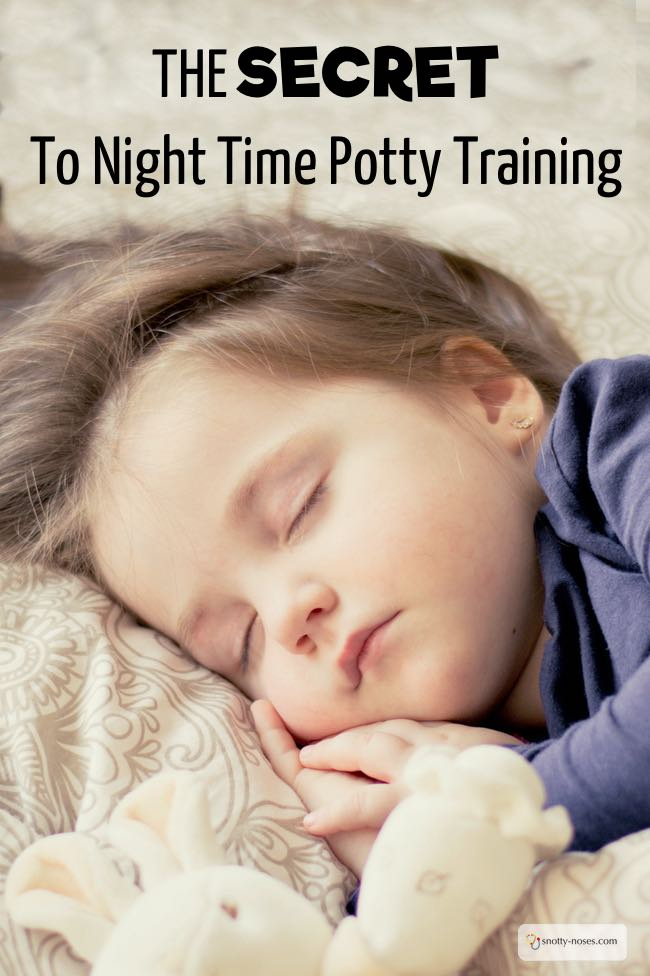 The Secret to Successful Night Time Potty Training. Written by a pediatric doctor. #pottytraining #pottytrainingtips #nighttimepottytraining #toilettraining #pottytrainingtips #toddlers #toddlertips #lifewithtoddlers #parenting #parents #parenthood #parentlife #lifewithkids