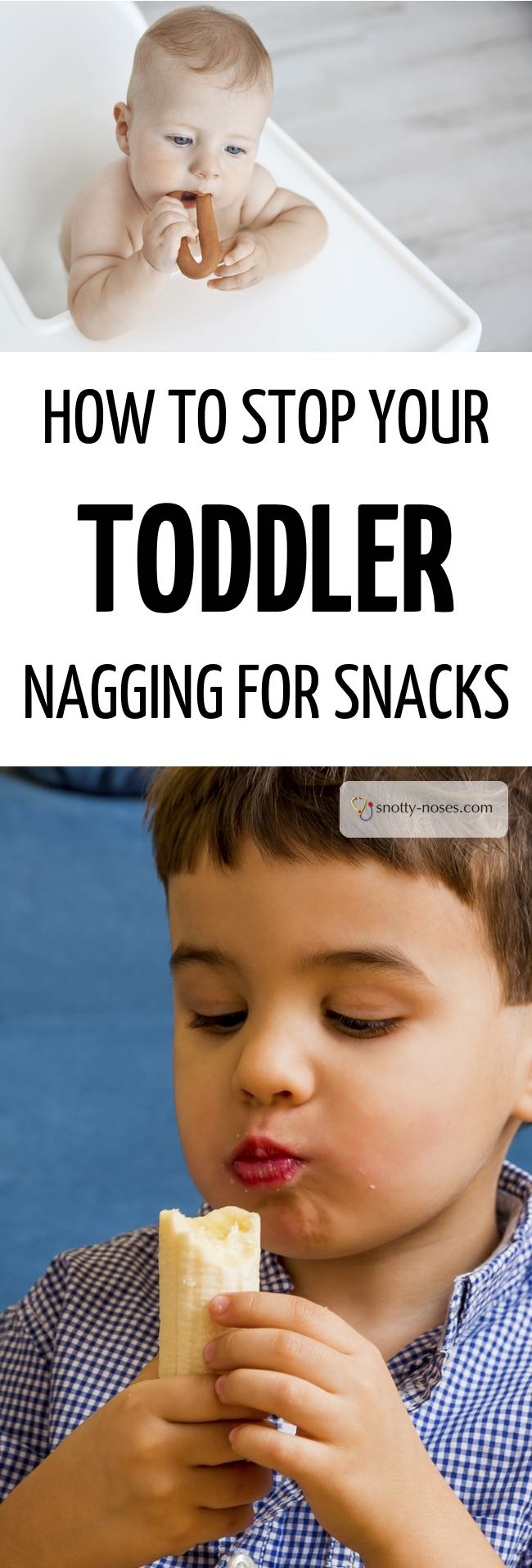 How to Stop Your Toddler or  Kids Nagging for Snacks. Kids nagging for snacks straight after dinner is so frustrating. Establish a healthy eating routine and you'll teach your kids to love healthy food and stop the nagging for snacks.