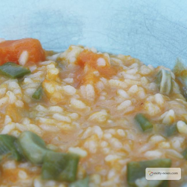 Easy Vegetable Risotto, a Healthy Meal for Picky Kids