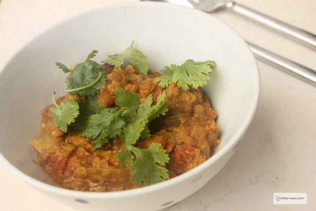 Mixed Lentil Curry in a Crock Pot. An easy and healthy dinner that my kids love