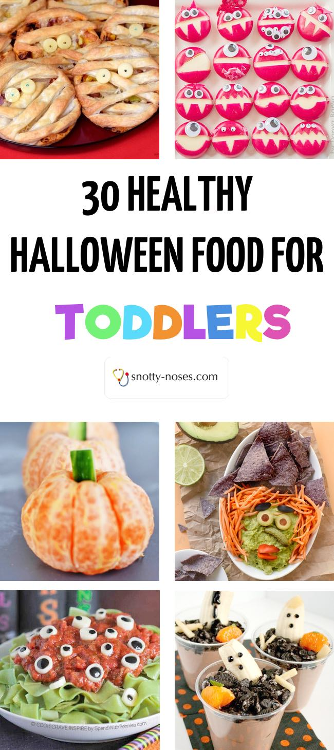 30 Healthy Halloween Snacks and Foods for your Toddler