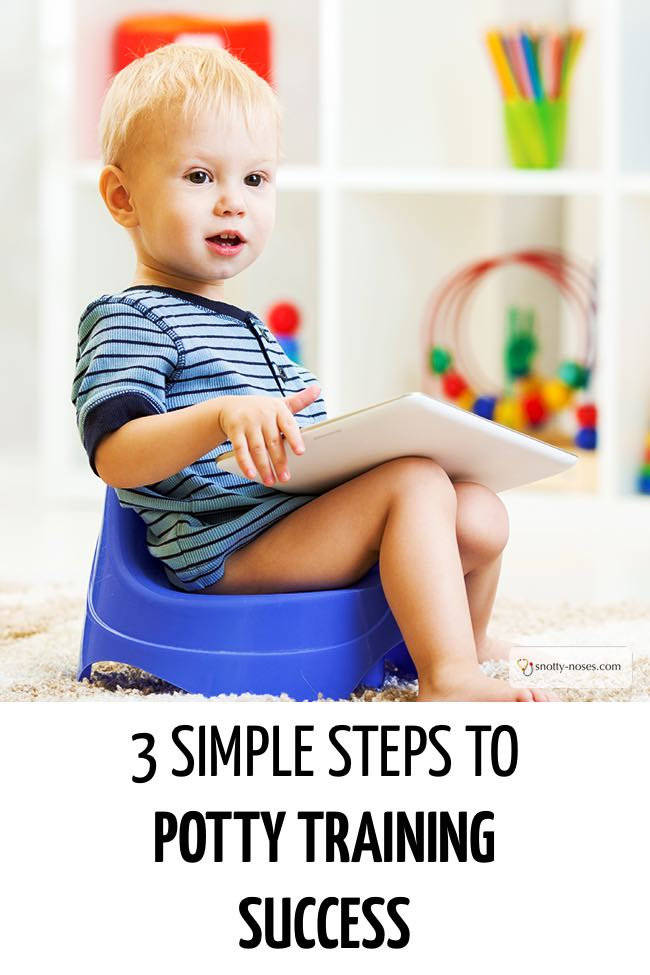 A little boy sitting on a blue potty learning how to do a wee on the potty. #parenting #parents #parenthood #parentlife #lifewithkids #positiveparenting #pottytraining #pottytrainingtips  #toilettraining #pottytrainingtips #toddlers #toddlertips #lifewithtoddlers