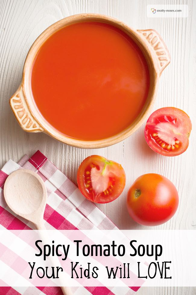 Spicy Tomato Soup Recipe. My Picky Eater's Favourite Healthy Lunch