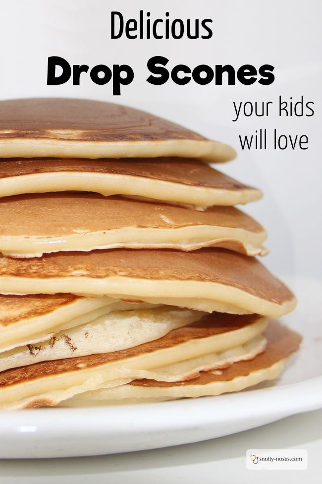 Drop Scones. A great recipe to cook with kids