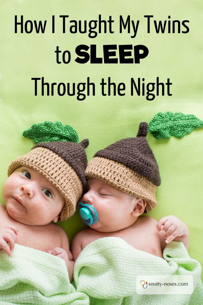 How I Taught My Twins to Sleep Through the Night