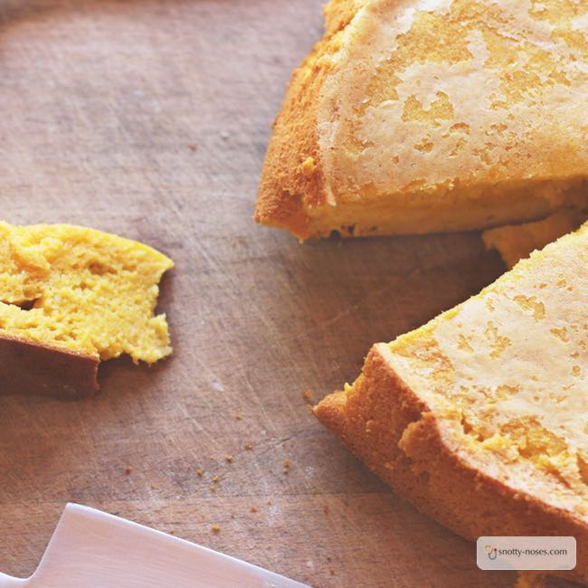 Easy Clementine Cake that you can make with your children for a healthy snack or desert.