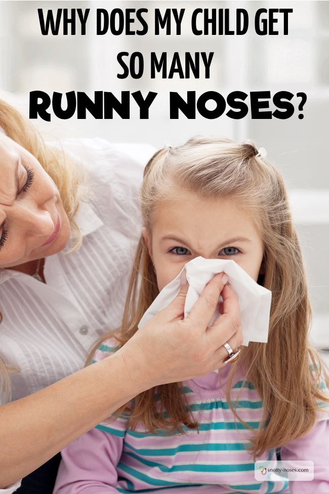 Why do Children always have runny noses? By a pediatrician