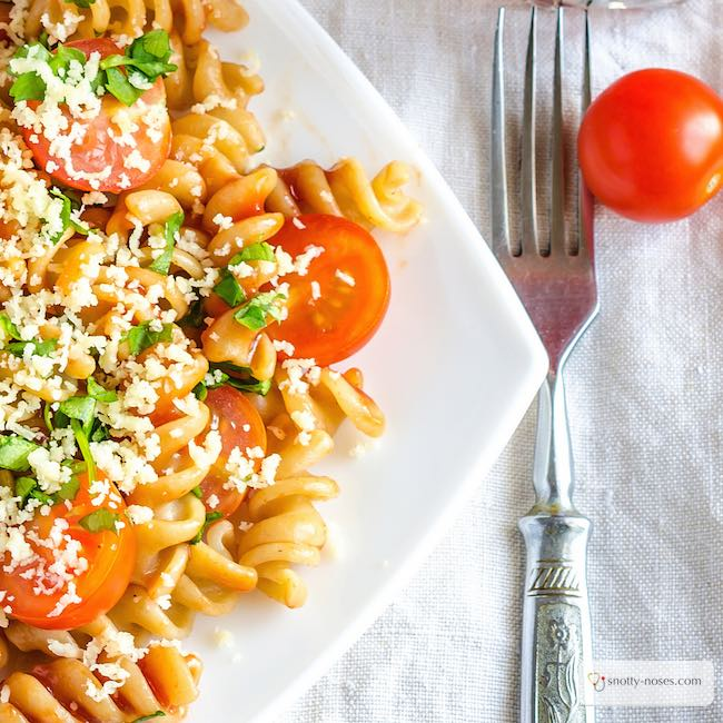 Easy Vegetable Pasta Your Kids Will Love.