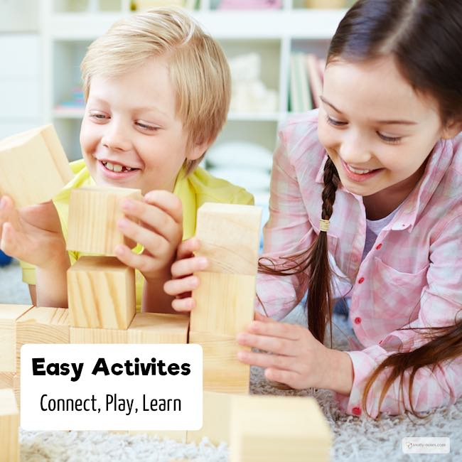 Children love to play and learn. Some awesome activities that you can do with your kids