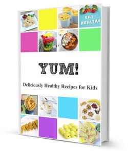 Yum! Deliciously Healthy Recipes that your Kids will Love. An awesome collection of recipes for breakfast, lunch, dinner, dessert and snack. Put the yum back into healthy!