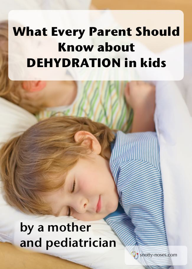Signs of dehydration in children and babies. Children and babies can get dehydrated when they are unwell. Make sure you know what to look for. So useful and written by a pediatric doctor.