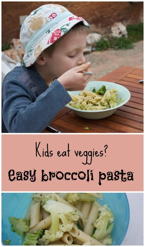 Quick, easy and healthy broccoli pasta