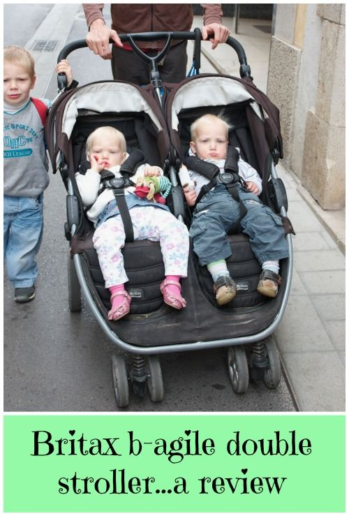 Britax b-agile double stroller, a review